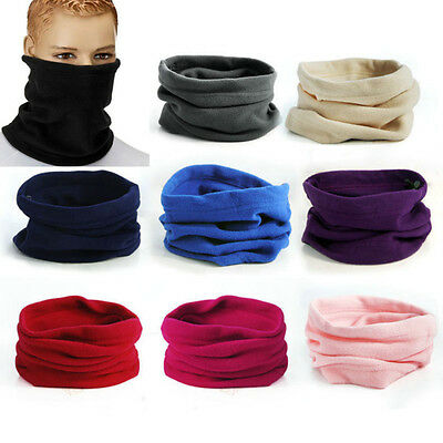 Warmer Face Mask Sport Thermal Fleece Scarf 3in1 Winter Snood Neck Beanie Hat