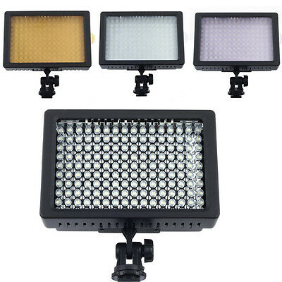 Universal 160 LED Video Light Photo Lamp for Canon Nikon DSLR Camera DV Lighting
