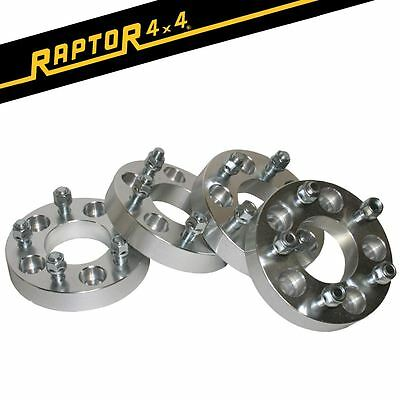 Raptor 4x4 + 30mm Aluminium Wheel Spacers x4 Land Rover Discovery 2 Range Rover