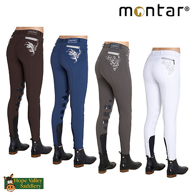 Montar Bamboo Childrens Silicone Knee Patch Breeches **SALE** **BNWT**