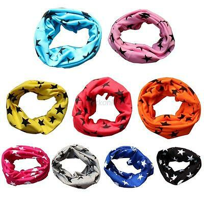 Baby Boy Girl Soft Cotton Winter Scarves Neck Wrap Ring Scarf Shawl Neckerchief