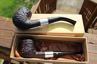 LOT 2 VINTAGE 1960'S UNUSED Dr. GRABOW SCULPTURA SMOKING PIPES w/ BOX