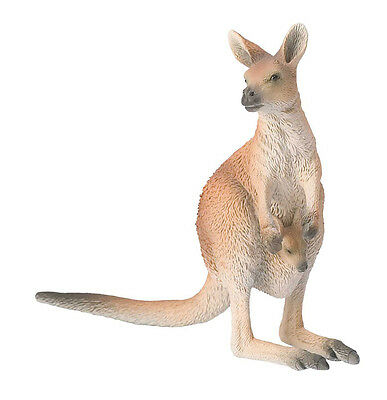 63565 Bullyland Kangaroo Figurine [Wild Animals] 108x45x123mm