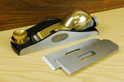 Quangsheng Low Angle Block Plane with 3 Irons (Type 3)