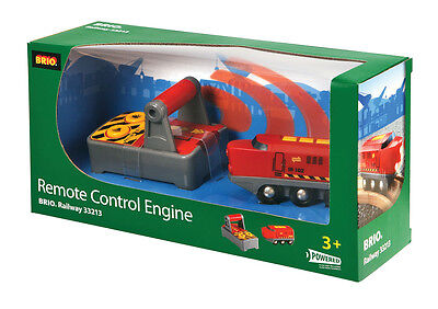 BRIO 33213 Remote Control Engine - Railway Battery Function Age 3-5 yrs / 2 pcs