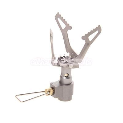 Mini Portable Ultralight Backpacking Gas Canister Camp Stove Burner