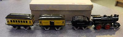 Antique 1922 Ives Manufacturing Train Set No. 2 Professionally Restored w/ Track