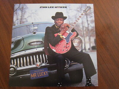 JOHN LEE HOOKER  Mr Lucky 12x12 poster