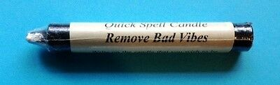 REMOVE BAD VIBES Quick Spell Ritual Candle!