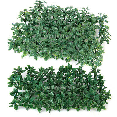 2x 50 Model Ground Cover Plants Architecture Train Diorama Scenery 1:50 O Scale