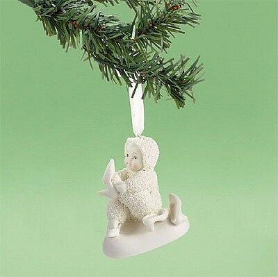 Dept 56 Snowbabies Retail Therapy Ornament # 4026745