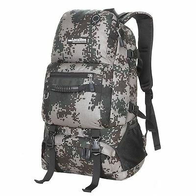 40L LOCALION Rucksack Travel/Hike/Mountaineering Backpack Sports Bag Camouflage