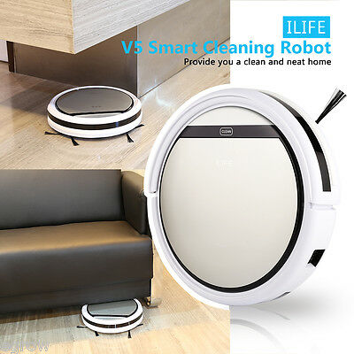 ILIFE V5 Smart Automatico Robot Vacuum Vuoto Cleaner Cleaning Aspirapolvere IT