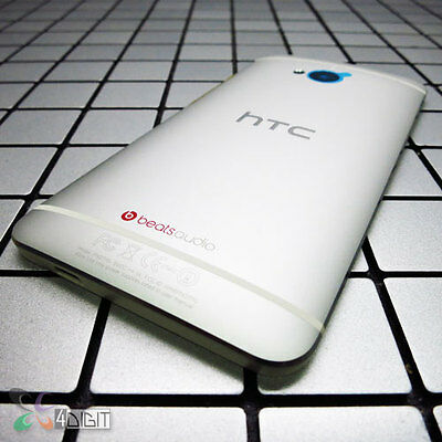 100% Genuine Original HTC ONE M7 801S Battery Back Rear Cover Door Case Housing