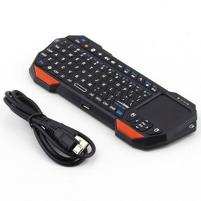 Mini Wireless Bluetooth 3.0 Keyboard Mouse Touchpad for Windows&Android&iOS FJAU