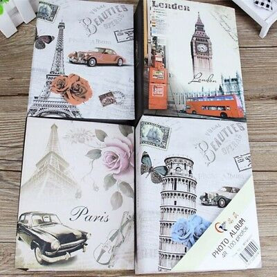 100 Photos Photo Album Storage Case Family Wedding Memory Picture Film Book Gift
