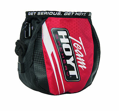 New Hoyt Archery Team Hoyt Compound Bow Release Aid Belt Pouch Draw String