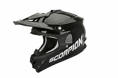 Scorpion VX-15 Air Casco cross negro MX Enduro Motocross casco M
