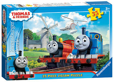 08711 Ravensburger Thomas & Friends At the Windmill 35pc [Kids Jigsaw Puzzle]