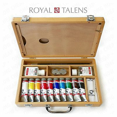 Christmas Special! - Royal Talens - Van Gogh Acrylic Set in Premium Wooden Case