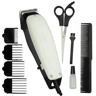 9Pc Professional Pet Hair Clipper Animal Grooming Kit Dog Cat Fur Trimmer Shave