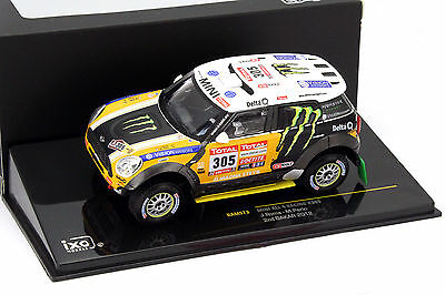 Mini Countryman All4Racing #305 2nd Rallye Dakar 2012 1:43 Ixo