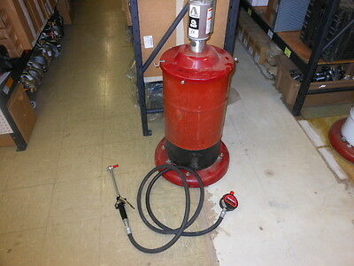 Alemite RAM Lubrication Pump 9961-1 Meter 3631 Lube Gun 7492 Grease Oil Can