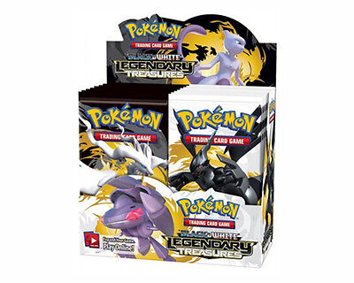 Pokemon Black & White Legendary Treasures Trading Card Game Booster Box
