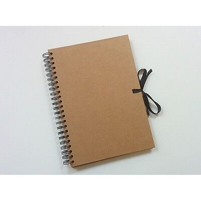A4 Eco Kraft 175gsm 40 Sheet Craft Display Photo Book Album