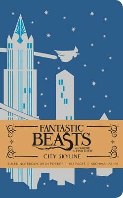 Fantastic Beasts and Where to Find Them City Skyline Hardcover ... 9781608879489