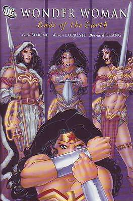 Wonder Woman Ends of the Earth Hardcover Gail Simone