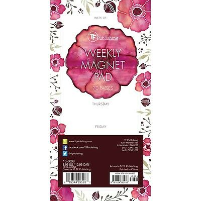 Poppies Magnet Pad