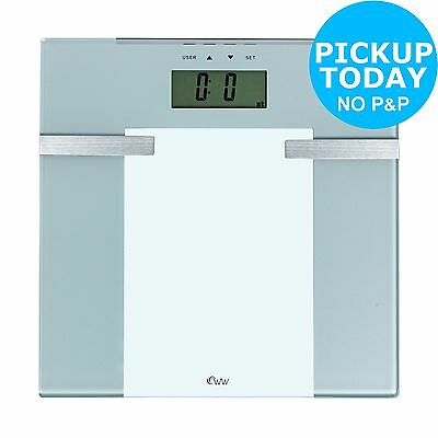 Weight Watchers Precision Glass Body Analyser Scale -From the Argos Shop on ebay