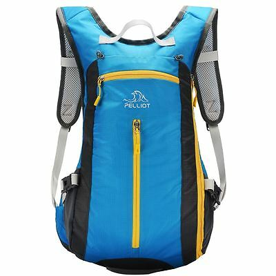 Pelliot Rucksack Outdoor Cycling Backpack Camping Sports Travel Bag 20L Sky Blue