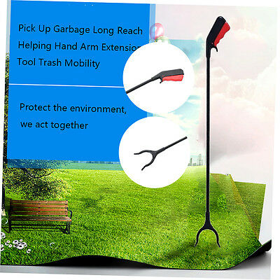 Pick Up Garbage Long Reach Helping Hand Arm Extension Tool Trash Mobility FJAU