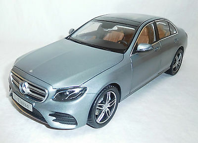 Modelcar Scale 1/18 Mercedes Benz E-class W213 AMG Line selenit grey NEW
