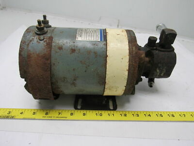 Ohio Electric B-481228X7832 36VDC .8HP 1660 RPM Motor With Oil Pump Attachment