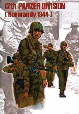 Trumpeter Model Kit - German 12th Waffen SS Div Normandy 1944 - 1:35 Scale 00401