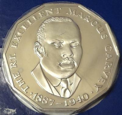 1977 Jamaica, 50 Cents, Proof, Low Mintage 10,000