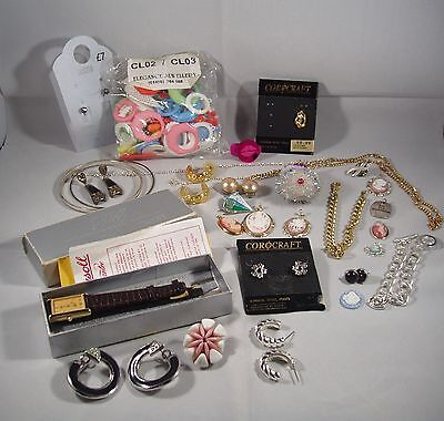 pack of assorted jewellery------new/vintage/repairs/spares------