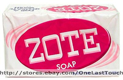 Pink ZOTE^High Quality LAUNDRY SOAP Safe DELICATE 6.5-7.0 oz WHITENING POWER 2/3