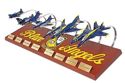 US Navy Blue Angels Airplane Aircraft Collection Desk Top Display 1/72 ES Model
