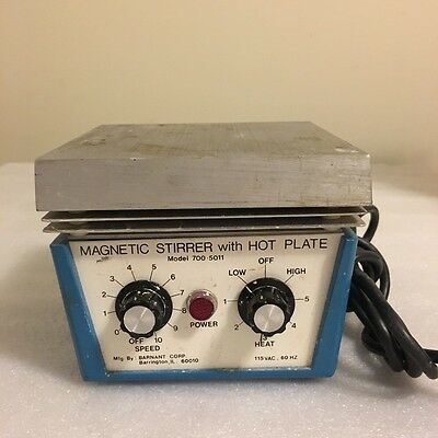 Barnant 700-5011 Magnetic Stirrer with Hotplate