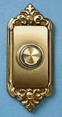 Carlon Victorian Antique Brass Doorbell push button Decorative Door hardware