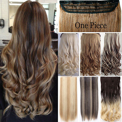 100% Real as remy human Hair Clip in Full Head Hair Extensions Extentions Mc3