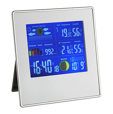 Tfa 35.1126 Weather Station Gallery Wireless Air Humidity Colour Display