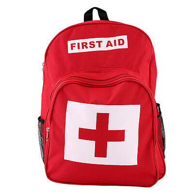 Sports Outdoors Camping Home Medical Emergency Survival First Aid Kit Bag FJAU
