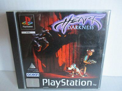 Sony Playstation 1 PS1 Spiel Heart of Darkness