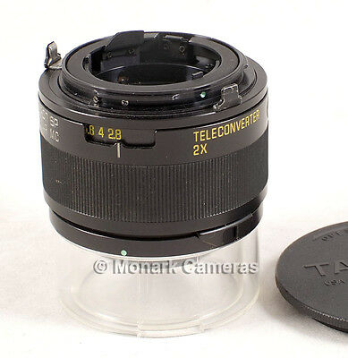 Tamron Adaptall 2x SP Teleconverter Lens Converter & Caps. Others Listed.