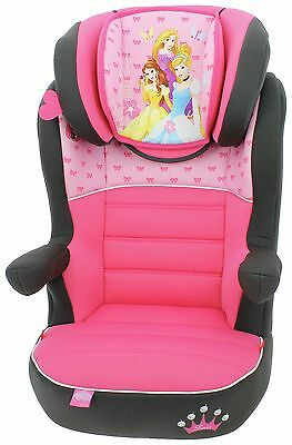 Disney Princess Rway SP Group 2-3 Highback Booster Seat Height Adjustable - Pink